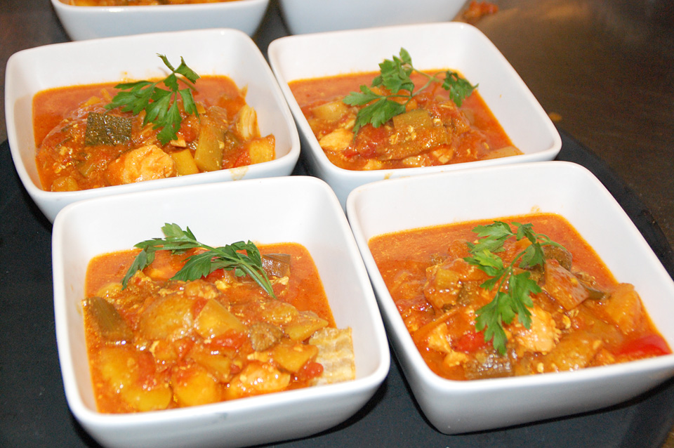 Catering Lunch Lunchmat Bouillabaisse