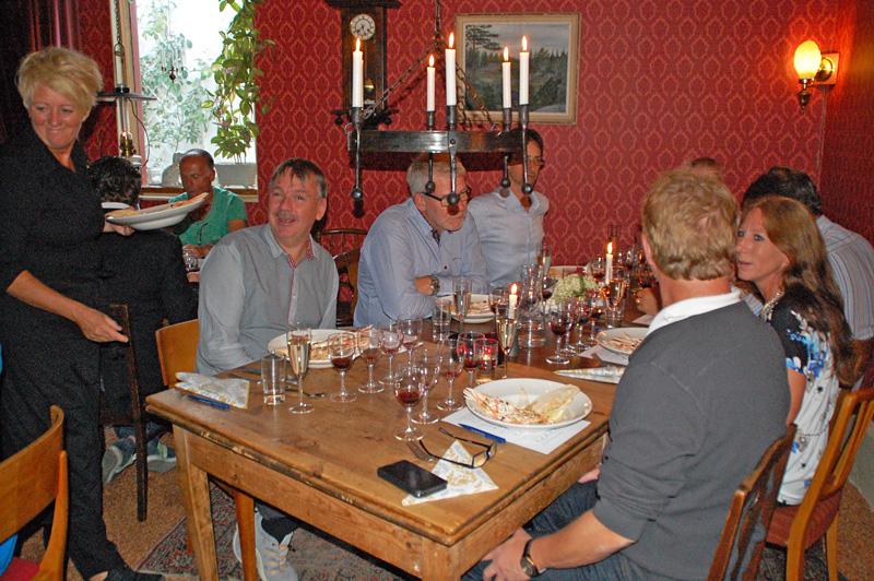 Middag och vinprovning hos Märtas Mat