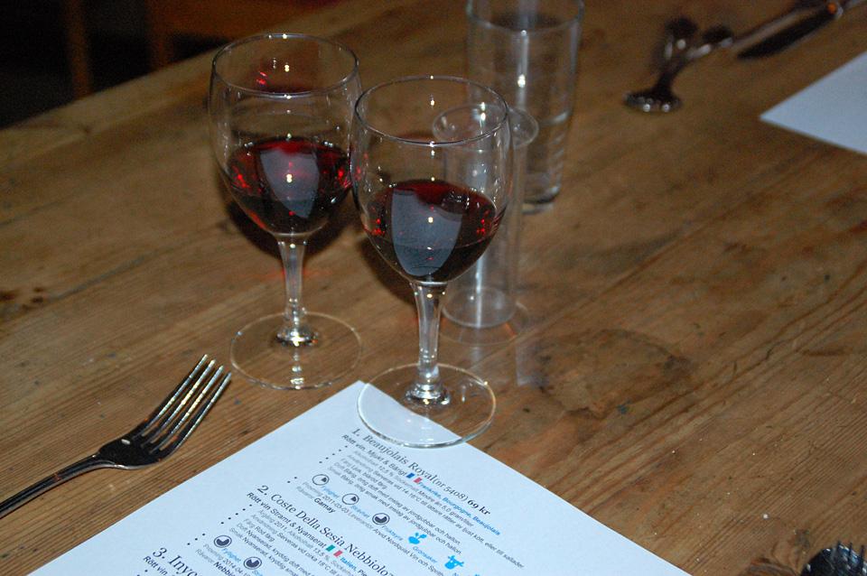 Vinprovning Hos Märtas Mat & Catering