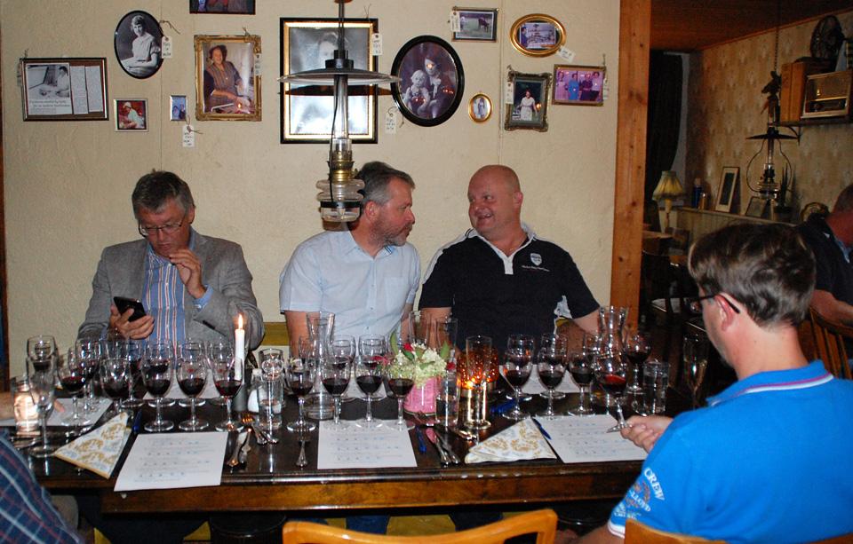 Vinprovning Martabordet